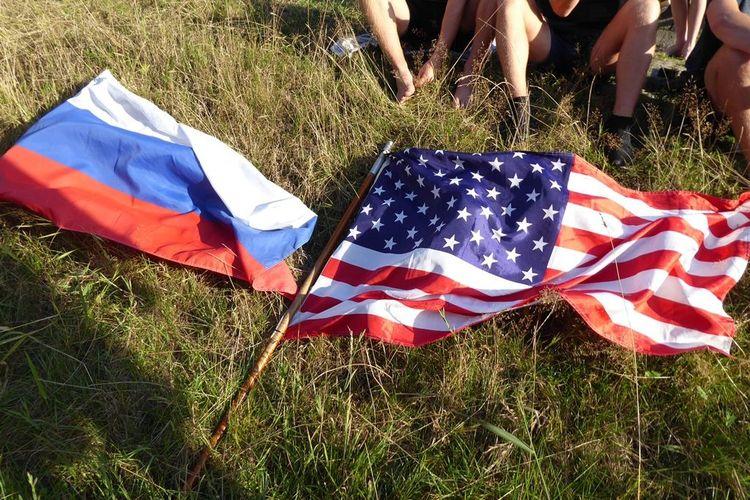 Fischerstechen Rußland gegen Amerika
