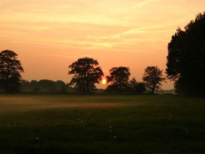 Sonnenuntergang in Friedeburg
